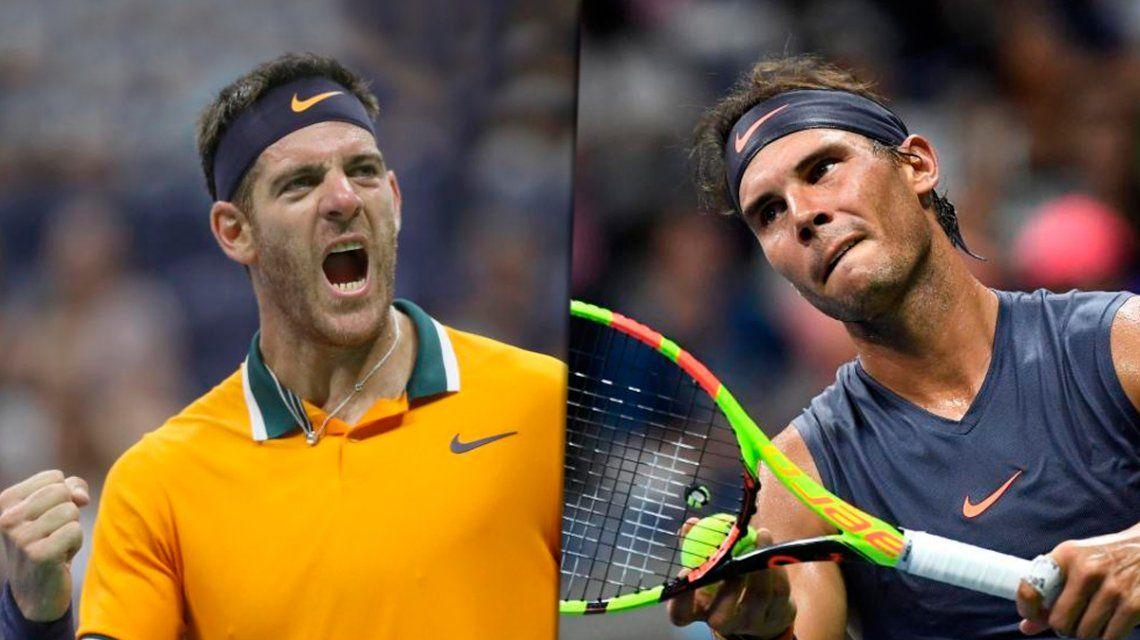 Del Potro le ganó a Nadal y jugará la final del US Open ante Djokovic