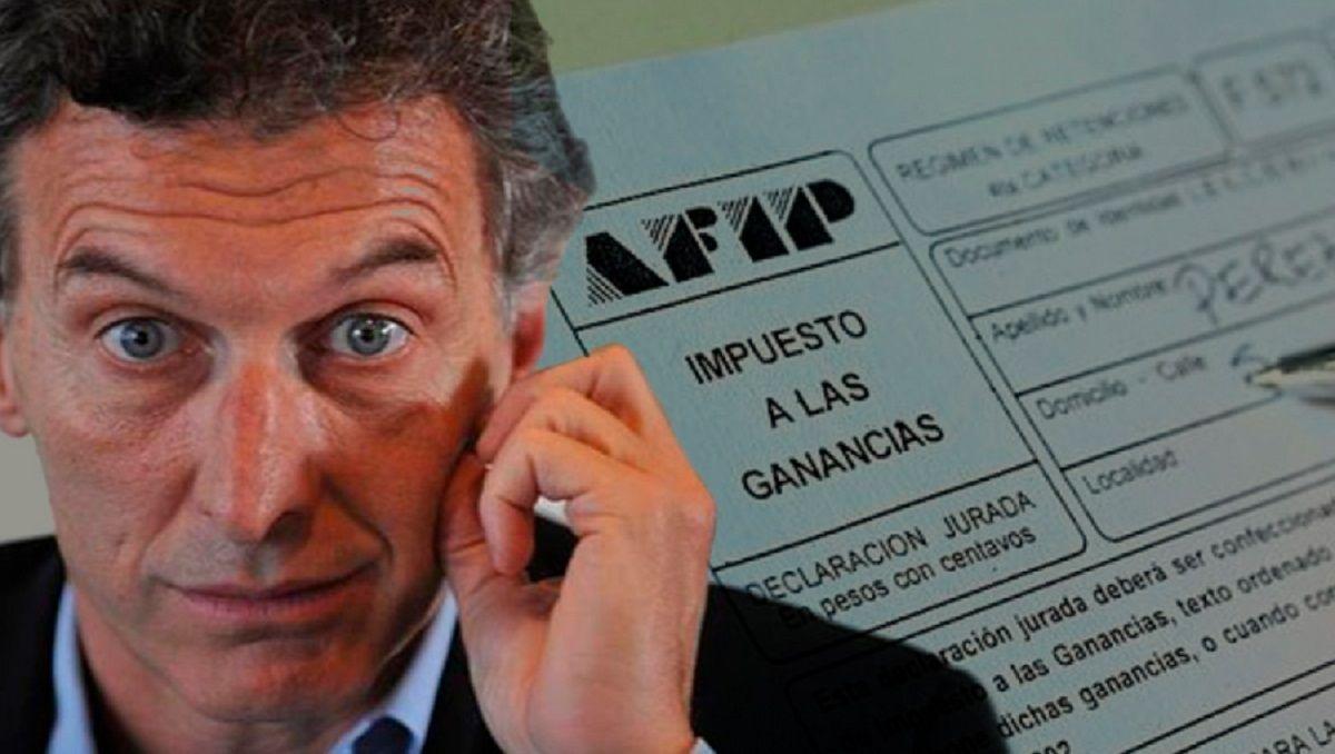 Ganancias en la era Macri: de la promesa de eliminación a que lo paguen más personas