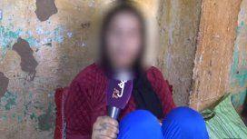 Khadija fue violada entre al menos 10 hombres a lo largo de un cautiverio de dos meses