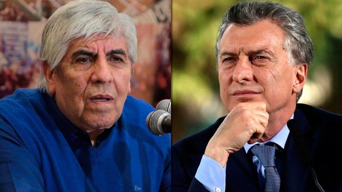 Hugo Moyano: Según allegados Macri tiene ganas de rajarse