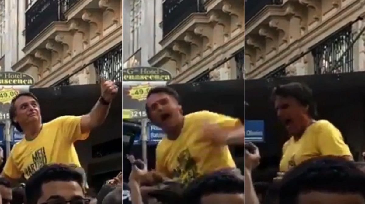 Apuñalaron a Bolsonaro en Brasil