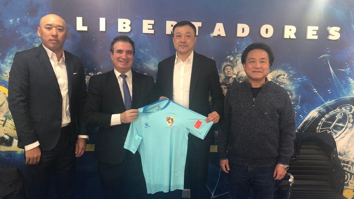 Cuatro jugadores chinos llegaron al Ascenso argentino