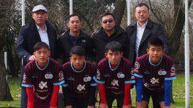 Acuerdo inédito: cuatro jugadores chinos llegaron a un club del Ascenso