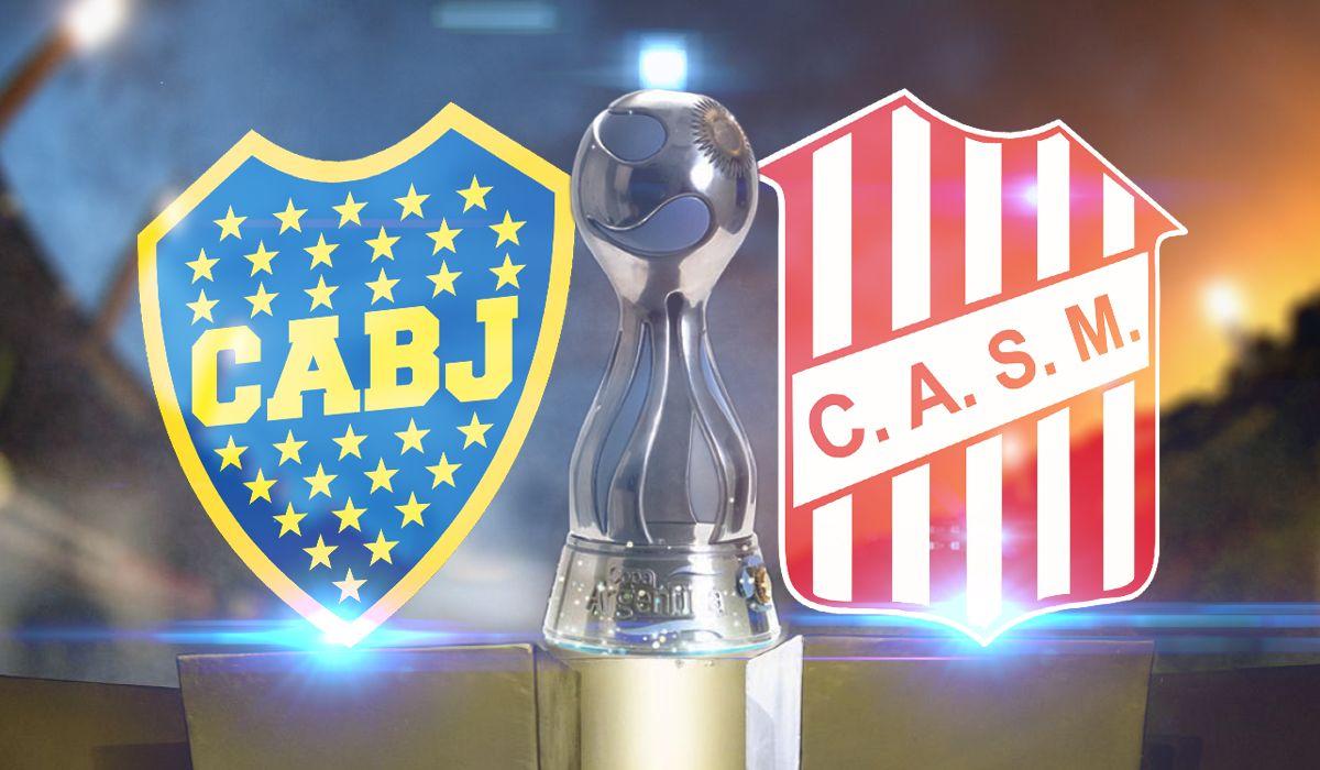 Boca vs San Martín por la Copa Argentina
