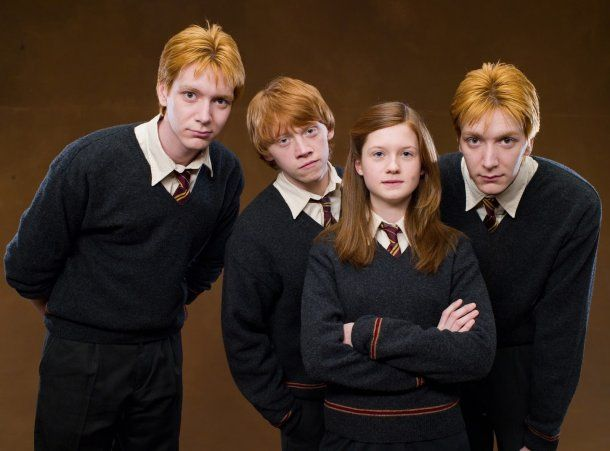 Pelirrojos. La familia Weasley de Harry Potter