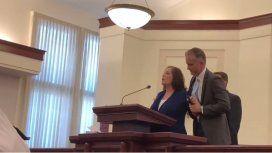 Interrumpió una misa para contar que había sido violada hace 34 años por un mormón