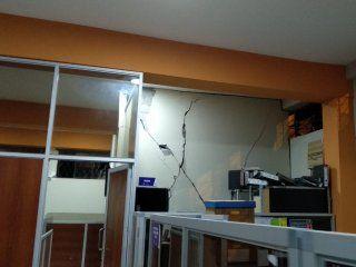 Importantes daños materiales por el sismo en Ecuador