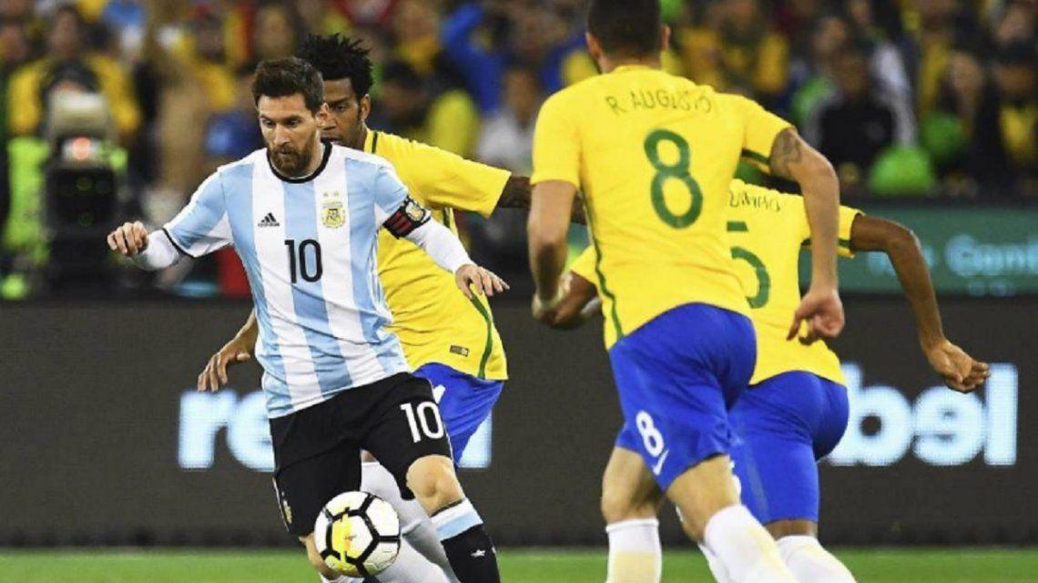 ¡Hay duelo ante Brasil! La Selección argentina jugará el clásico en octubre