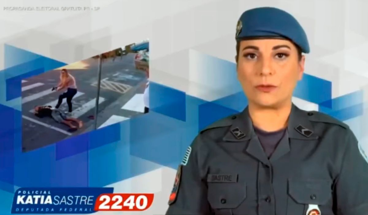 Katia Sastre mostró un video de campaña en donde mata a un ladrón