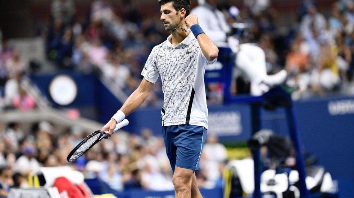 Djokovic en el US Open - Crédito:@usopen