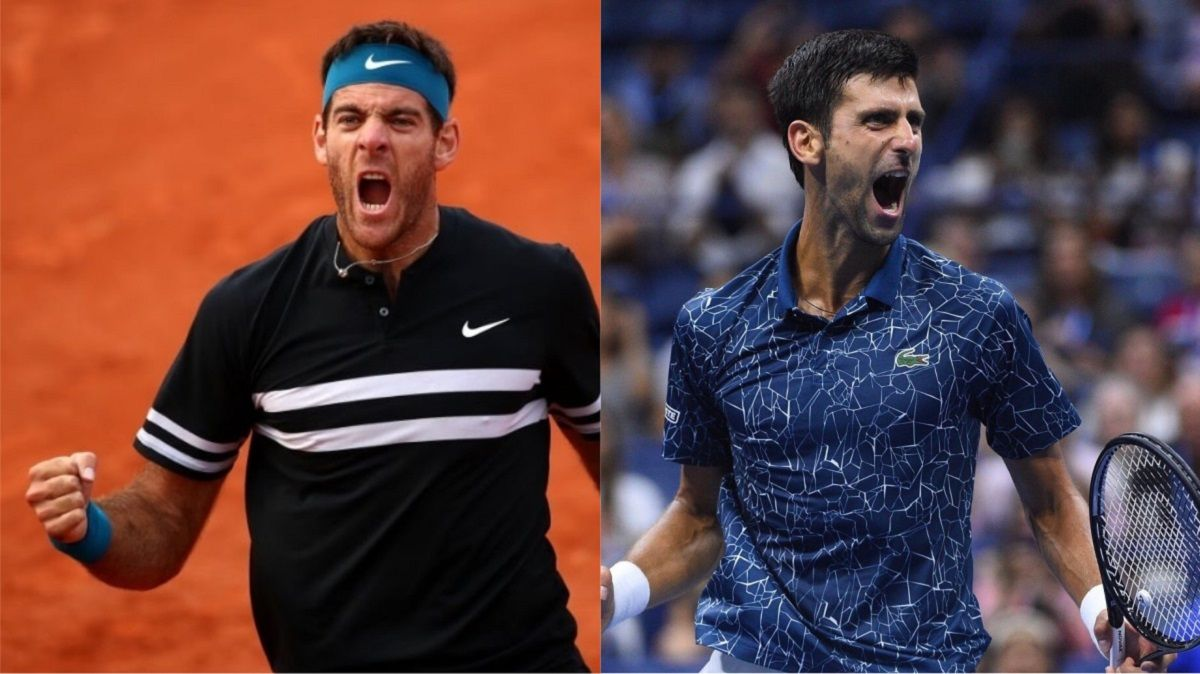Del Potro y Djokovic en la final del US Open