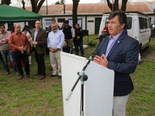 Daniel Pelegrina, de la Sociedad Rural - Crédito:@SociedadRural