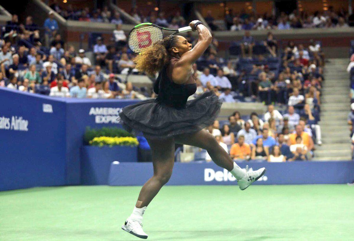 Serena Williams en el US Open - Crédito:@usopen