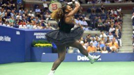 Serena Williams en el US Open - Crédito: @usopen