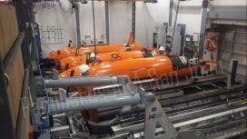 Cinco robots bajan al fondo del mar a buscar al submarino ARA San Juan