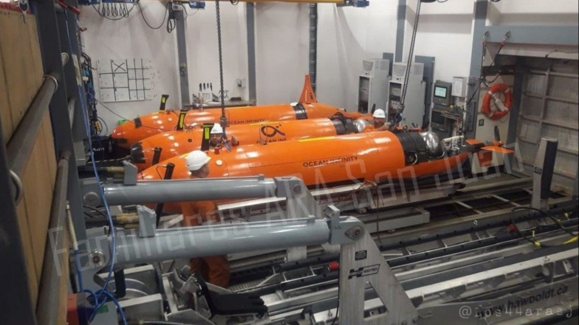 Después de un año, encontraron el submarino ARA San Juan
