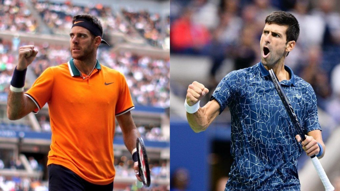 Del Potro de Djokovic en la final del US Open