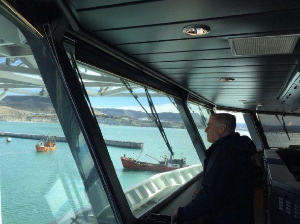 Aguad en el Seabed Constructor que busca al ARA San Juan - Crédito: @OscarAguadCBA<div><br></div>
