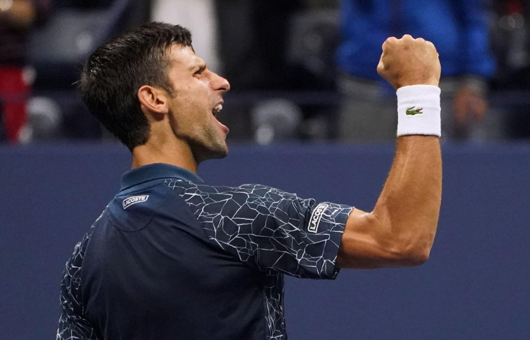 Djokovic en el US Open