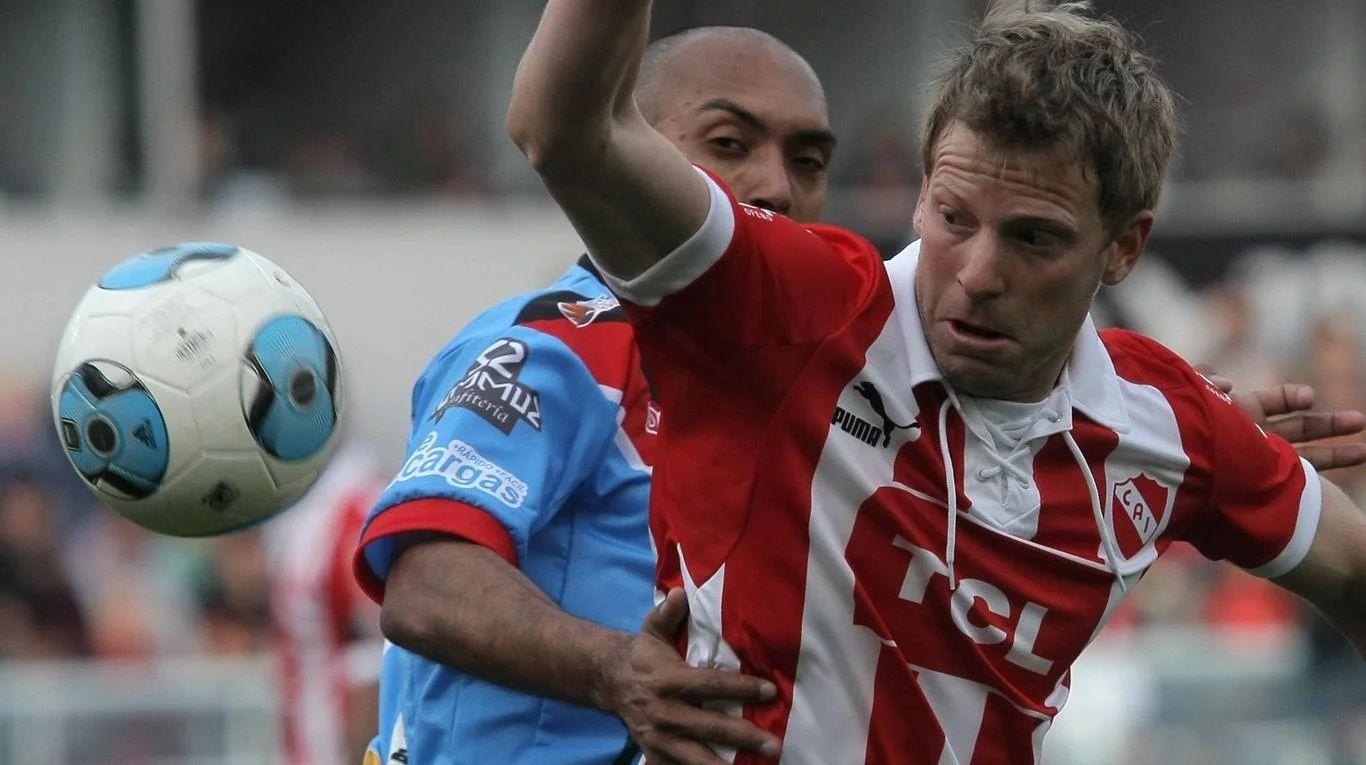 Independiente y Brown se enfrentaron el día en el que el Rojo debutò en la B