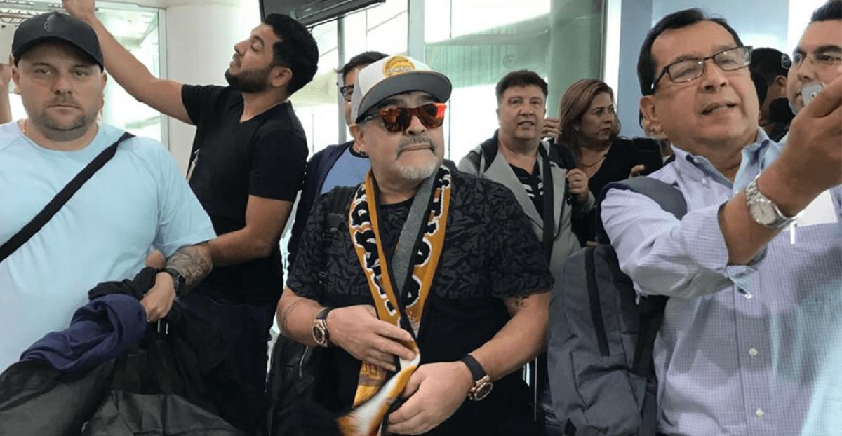 Dorados de Sinaloa presenta a Diego Armando Maradona