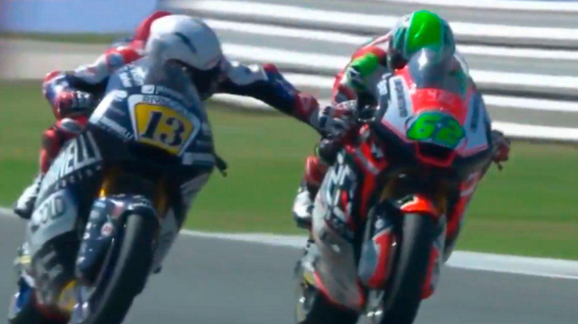 Moto GP: Fenati le accionó el freno a Manzi en San Marino y fue echado por su equipo