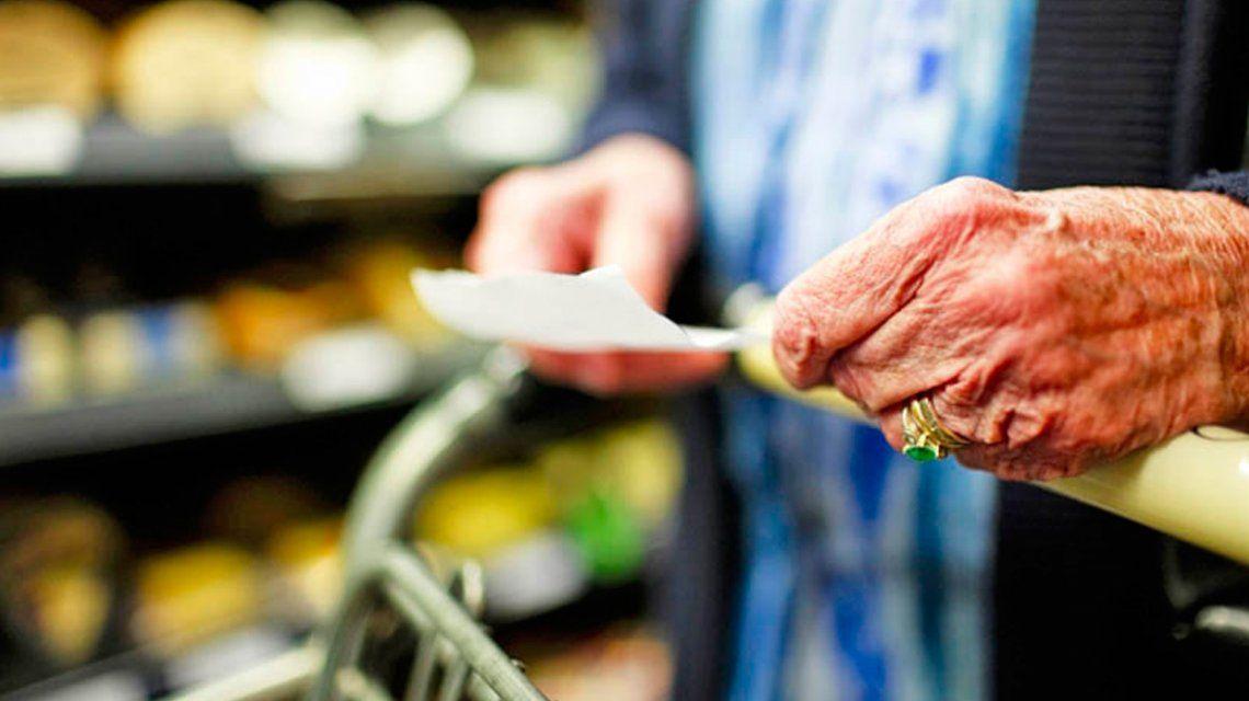 Aseguran que jubilados que cobran la mínima pueden comer sólo 15 días del mes