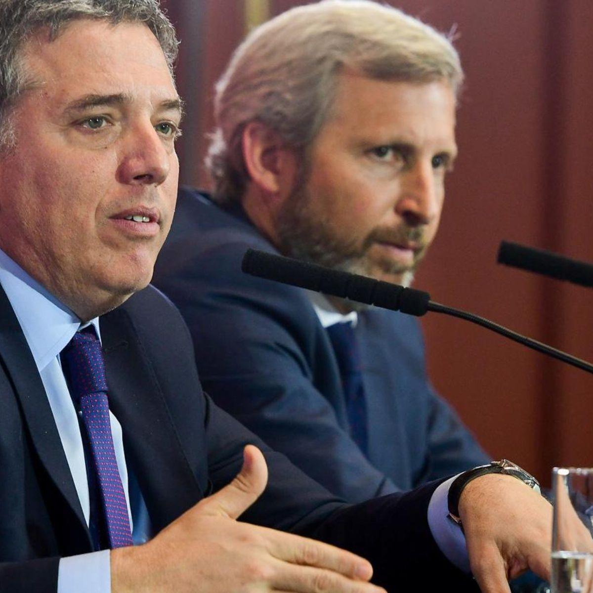 Nicolás Dujovne y Rogelio Frigerio
