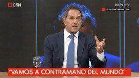 Scioli: Hay que desdolarizar la economía ya