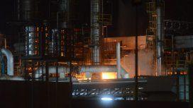 Incendio en refinería de Bahía Blanca