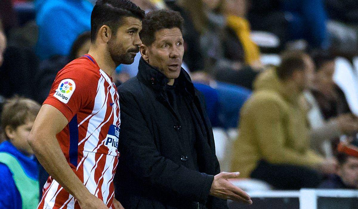 La divertida confesión de Simeone sobre la vez que descartó a Diego Costa