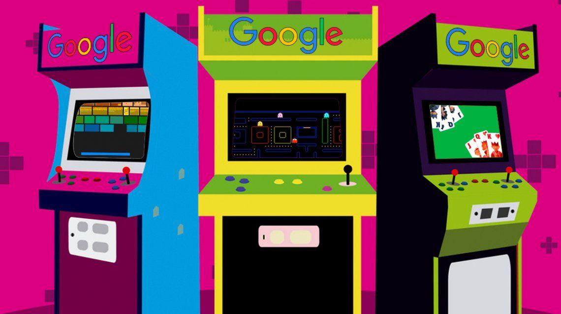 Pac-Man, Solitario, Breakout y otros 10 trucos para jugar en Google