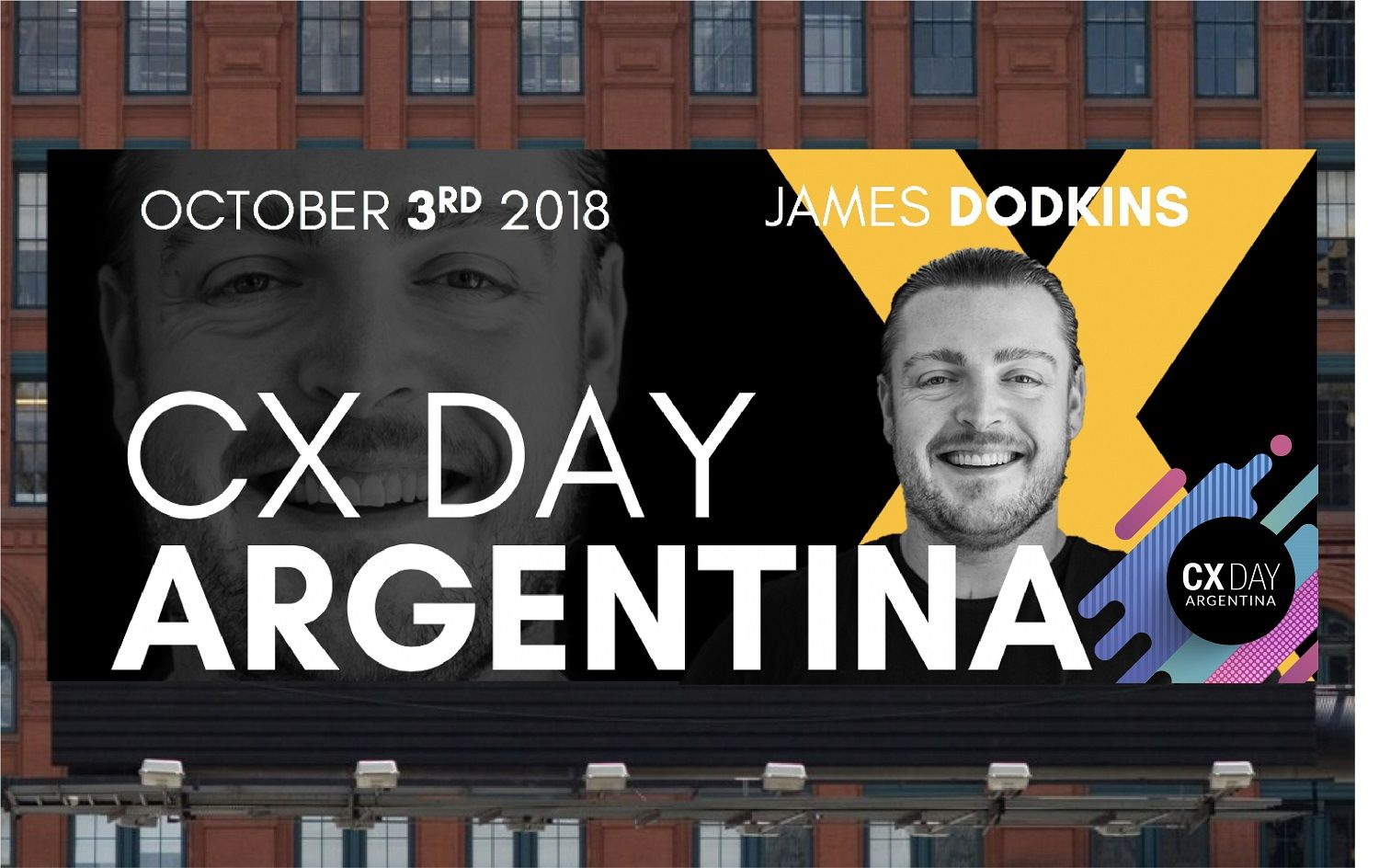 James Dodkins vendrá a Rockear al CX Day Argentina 2018
