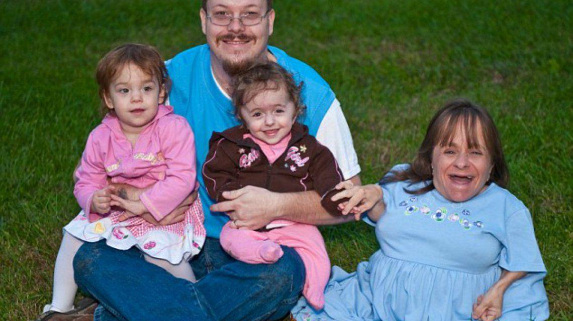 Stacy era la madre más pequeña del mundo con apenas 71 centímetros