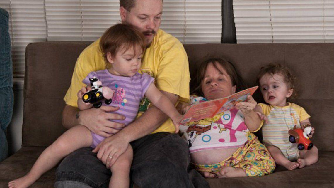 A los 44 años murió la mamá más pequeña del mundo