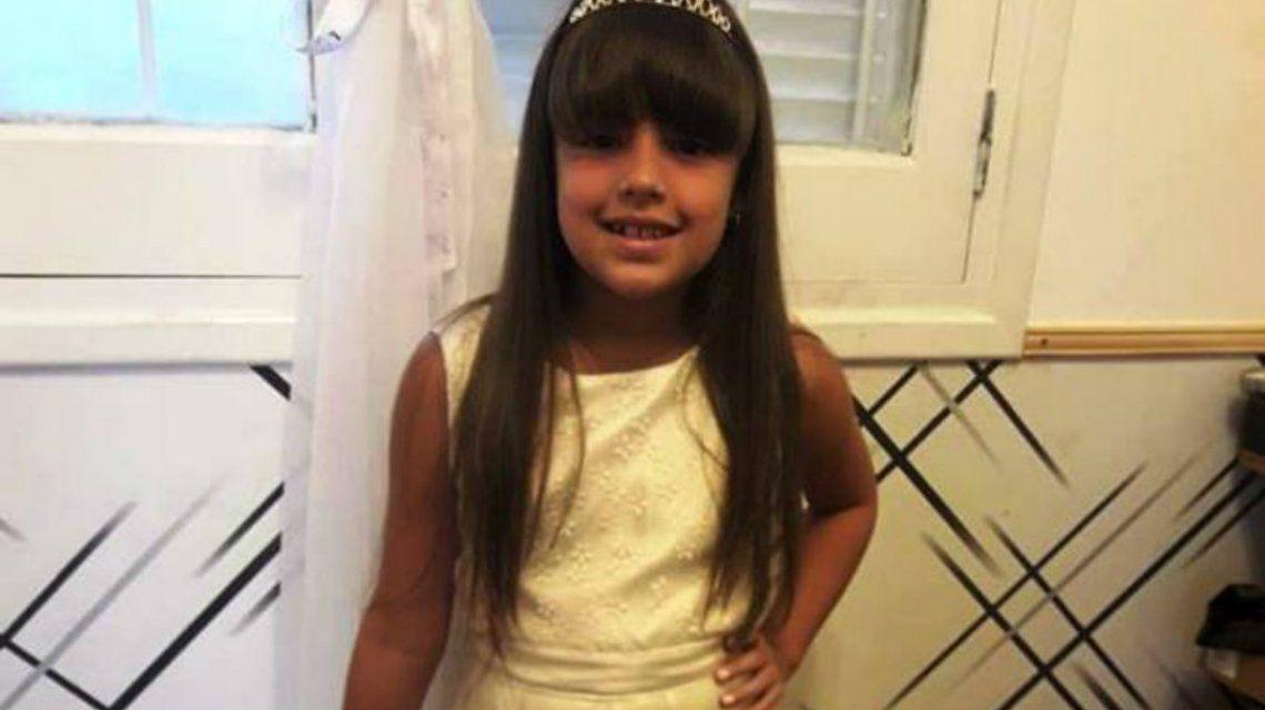Luana tenía siete años