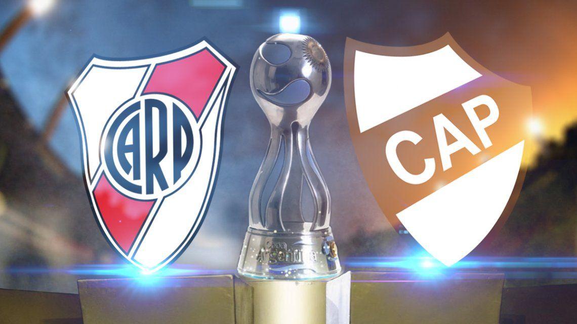 River vs Platense por Copa Argentina: horario, formaciones y TV