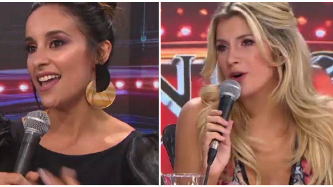 El cara a cara de Lourdes Sánchez y Laurita Fernández tras el polémico audio