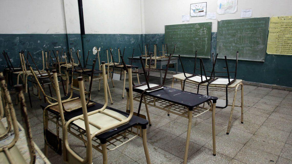 No arrancan las clases: primero de los tres días de paro