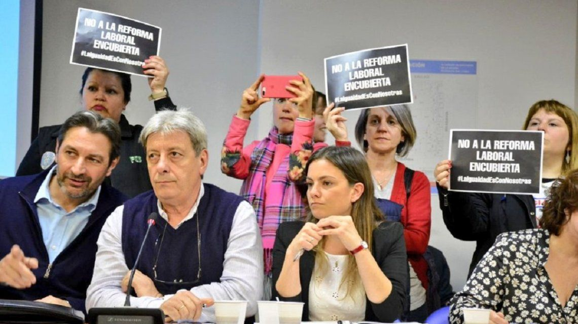 La oposición rechaza la iniciativa del macrismo