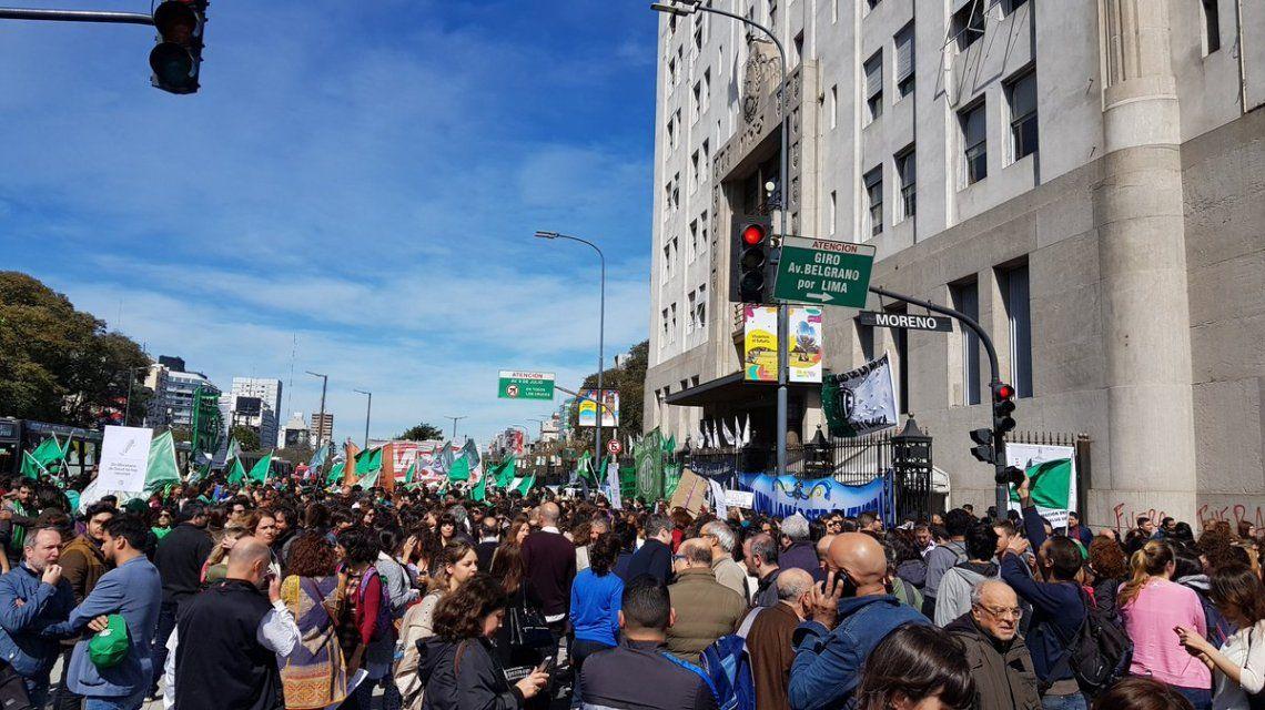 Protesta de ATE