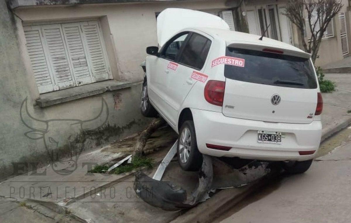 Goñi no sufrió heridas