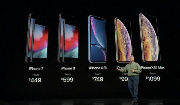 Estos son los precios del iPhone en Estados Unidos<br>