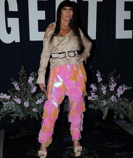 Moria Casán y un pantalón muy polémico para la gala de Gente. <br>