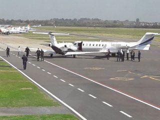 chocaron dos avionetas en el aeropuerto de san fernando