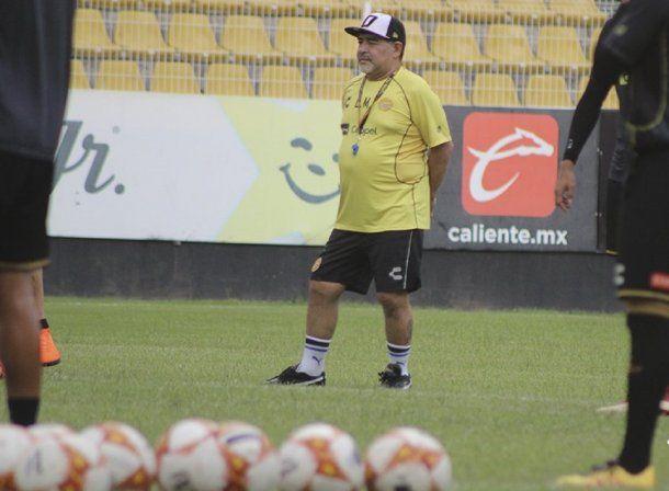 Diego Maradona en Dorados - Crédito: @Dorados<div><br></div>