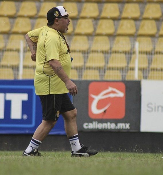 Diego Maradona en Dorados - Crédito: @Dorados