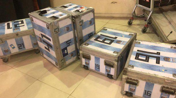 Secuestraron mercadería sin declarar a la Selección - Crédito: @AFIPcomunica<br>