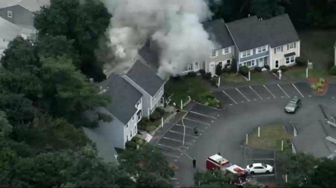 Una veintena de casas quedaron afectadas por la explosión