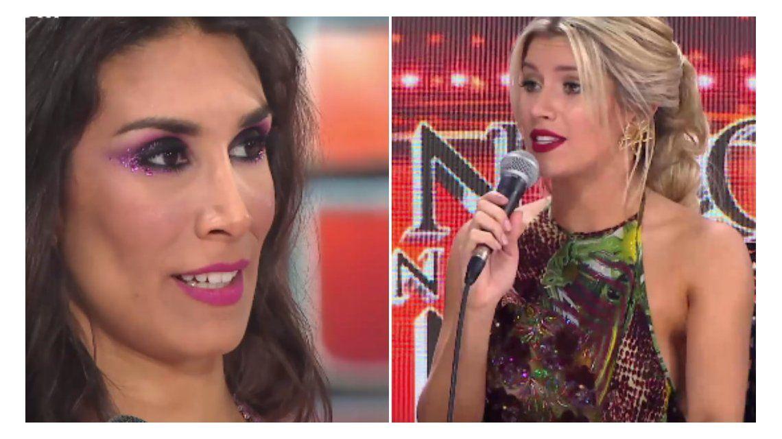 El picante cara a cara de Laurita Fernández y Flor Marcasoli en ShowMatch